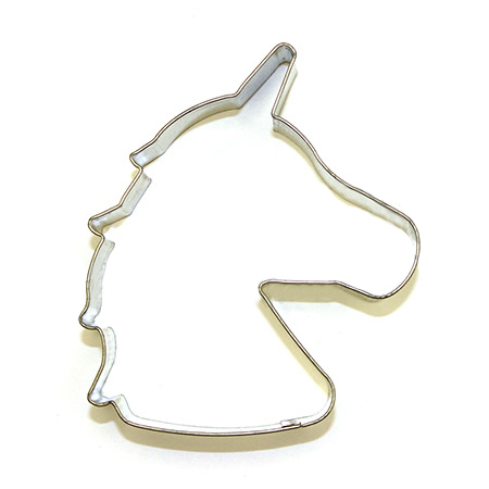 Unicorn Cookie Cutter Head The Biscuit Studio