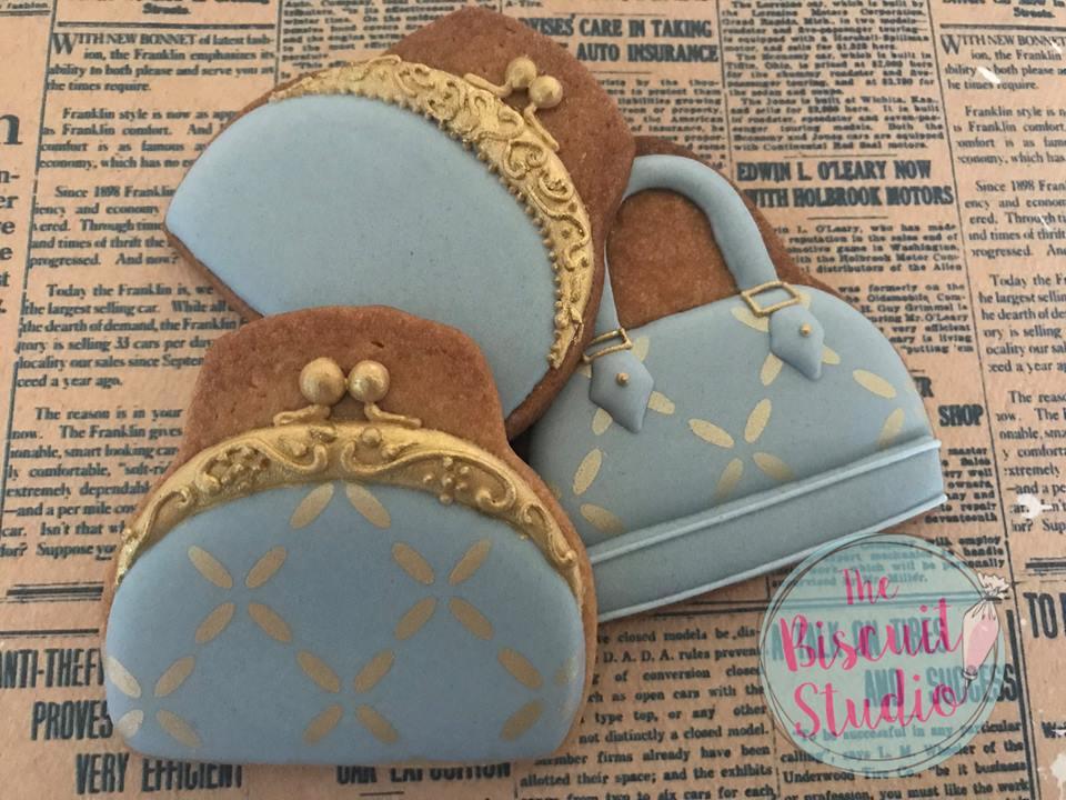 High Heel Shoe And Handbag Cookie Cutters Set Of 2