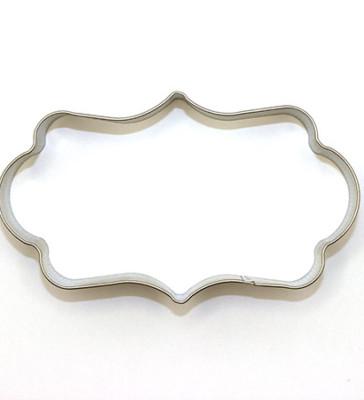 Plaque A cookie cutter