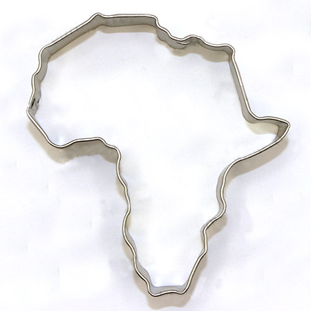 Africa Cookie Cutter The Biscuit Studio