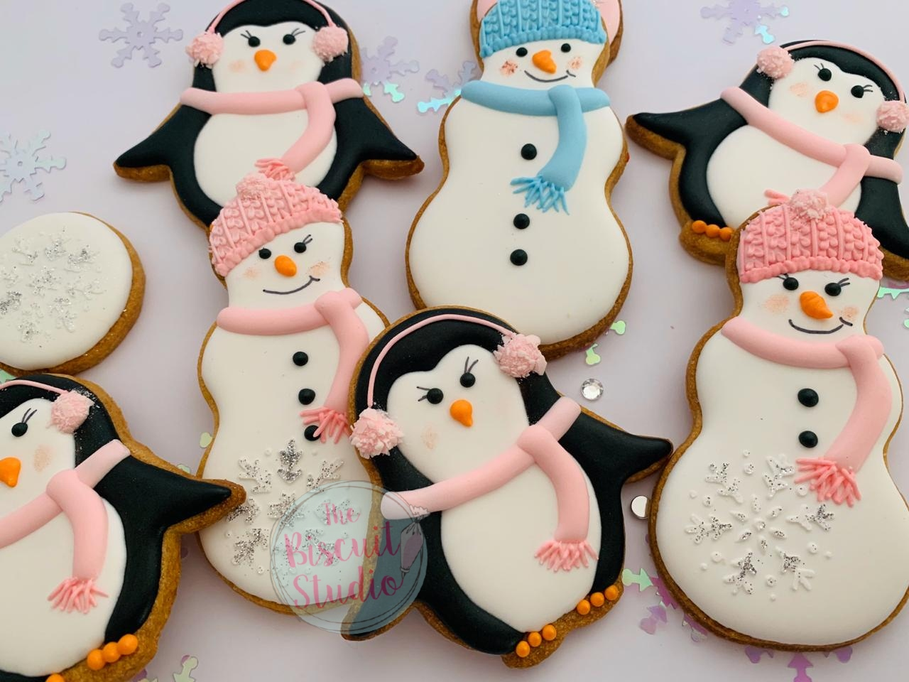 Penguins & snowmen