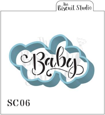Baby Cutter & Stencil Set
