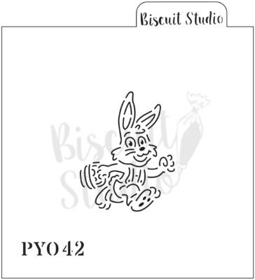 PYO Bunny Boy cookie stencil