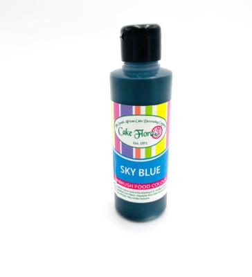 Cake Flora airbrush colour sky blue
