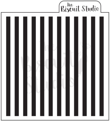 Stripes cookie stencil
